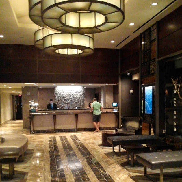 The Muse Hotel Lobby