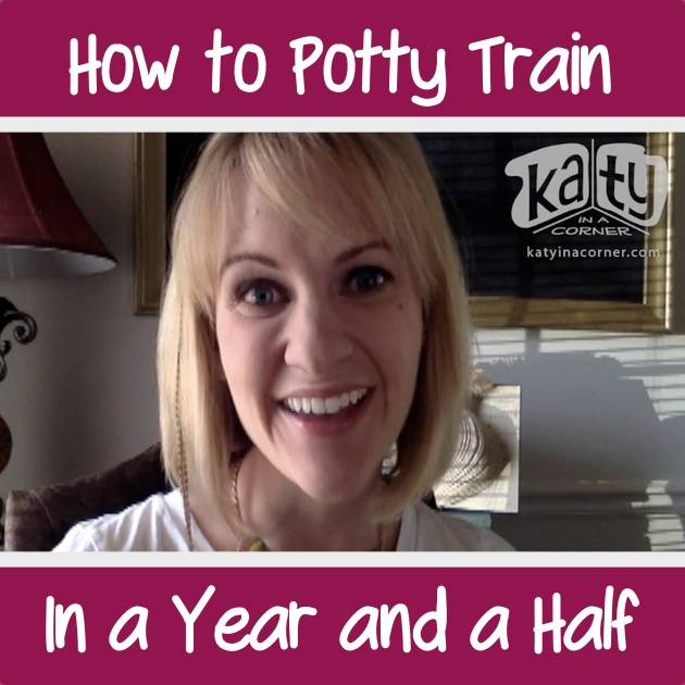 How to Potty Train in a Year and a Half