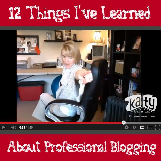 12 Things I've Learned about Professional Blogging