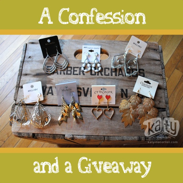 A Confession and a Giveaway