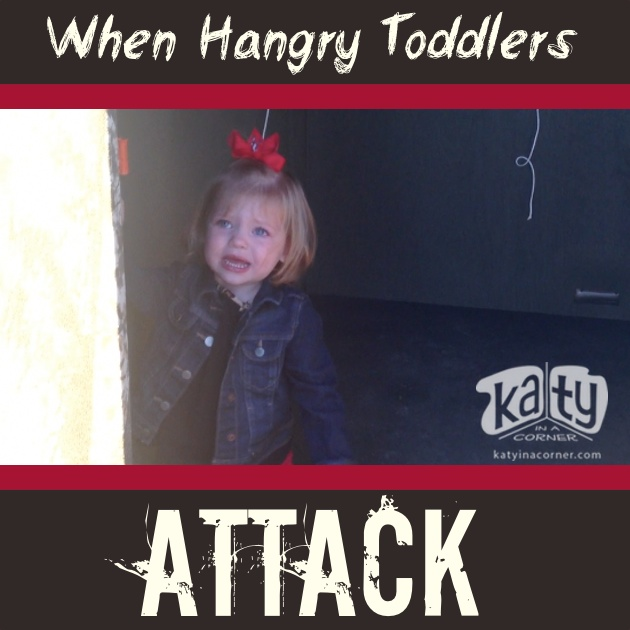 When Hangry Toddlers Attack