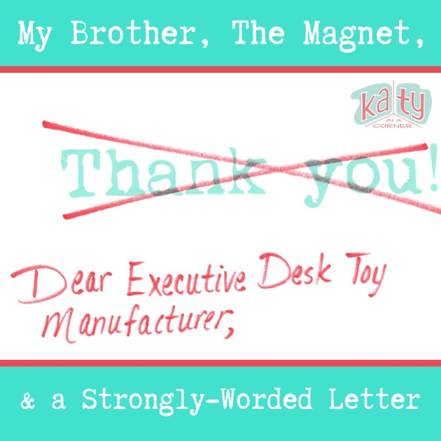 A Strongly-Worded Letter