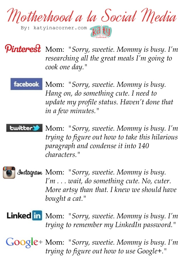 Motherhood a la Social Media