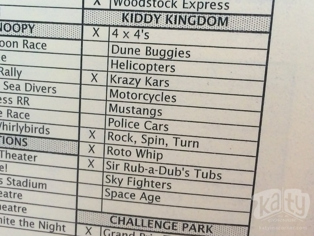 Cedar Point's Kiddie Kingdom