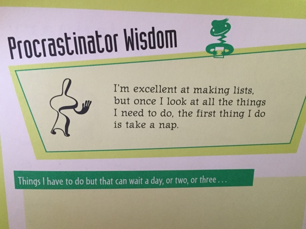 The Procrastinator, the Pennies, & the Porcelain Throne